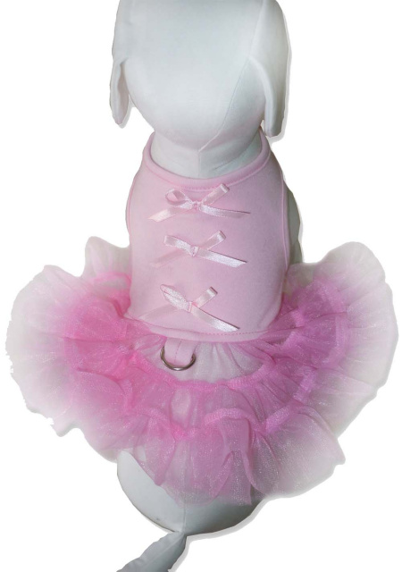 Cha-Cha Couture(チャチャクチュール)Little Ballerina Tutu Dress Light Pink バレリーナ チュチュ ハーネス ドレス ライト ピンク