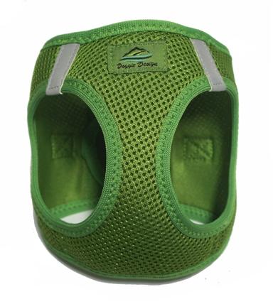 Doggie Design(ドギーデザイン)American River Ultra Harness Apple Green アメリカン リバー パテント ペンディング ハーネス