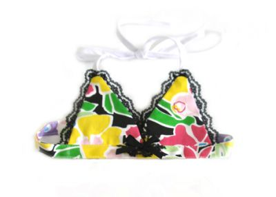Doggie Design(ドギーデザイン)Flower Print Bikini Top フラワー プリント ビキニ トップ