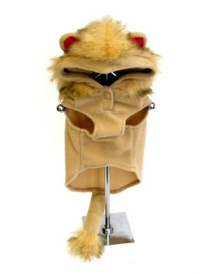 Doggie Design(ドギーデザイン)Hoodie Lion Costume フード ライオン コスチューム