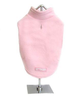 Doggie Design(ドギーデザイン)Pink Fleece Vest ピンク フリース タートルネック ベスト