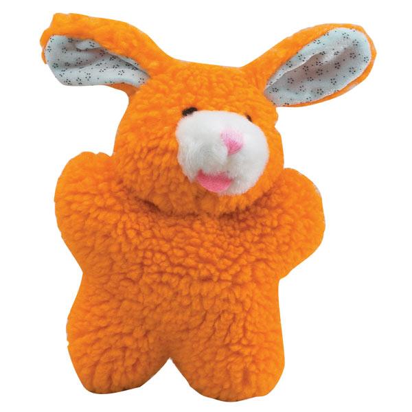 Zanies(ザニーズ)Cuddly Orange Bunny Dog Toys オレンジ バニー ドッグ トイ