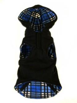 Doggie Design(ドギーデザイン)Blue Plaid Reversible Fleece Vest ブルー プレイド リバーシブル ベスト