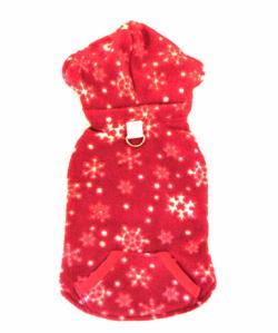 Red Snowflake Reversible Vest レッド スノーフレーク リバーシブル ベスト