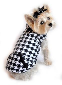 Doggie Design(ドギーデザイン)Houndstooth Reversible Vest ハウンドトゥース リバーシブル ベスト