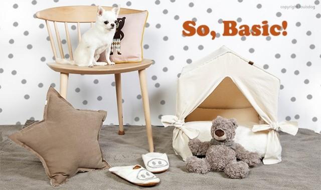 Louisdog(ルイスドッグ)犬用ベッド Peekaboo/Natural Petit ピーカブ ナチュラル ハウス ベッド プチサイズ