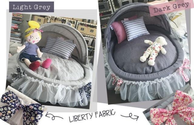 Louisdog(ルイドッグ)Linen Cradle Light Grey リネン クレイドル ライト グレー