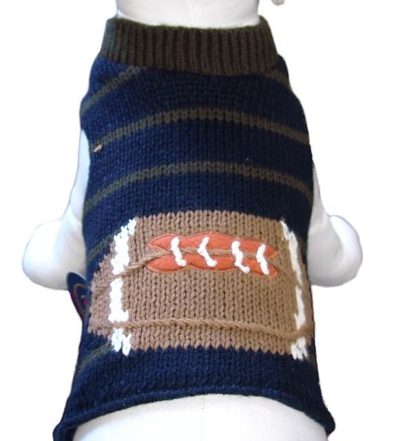 Cha-Cha Couture(チャチャクチュール)Football Sweater Vest フットボール セーター ベスト