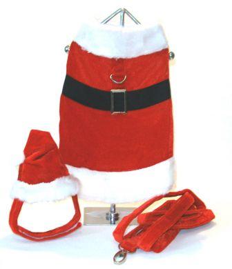 Doggie Design(ドギーデザイン)ドッグウェア Velvet Boy Santa Claus ベルベット ボーイ サンタ クロース コスチューム