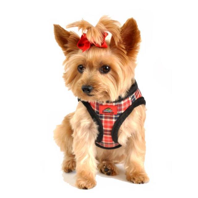 Doggie Design(ドギーデザイン)American River Ultra Harness Red Plaid アメリカン リバー ウルトラ ハーネス レッド プレイド