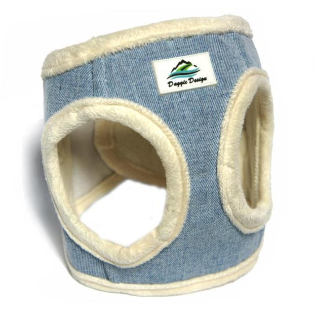 Doggie Design(ドギーデザイン)American River Ultra Harness Blue Cream アメリカン リバー ウルトラ ハーネス ブルー クリーム