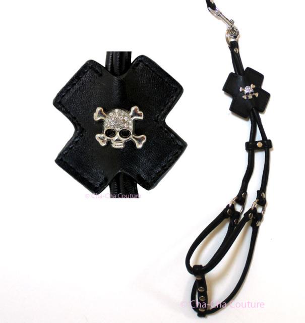 Cha-Cha Couture(チャチャクチュール)Step In Style Harness Skull ステップ イン スカル ハーネス