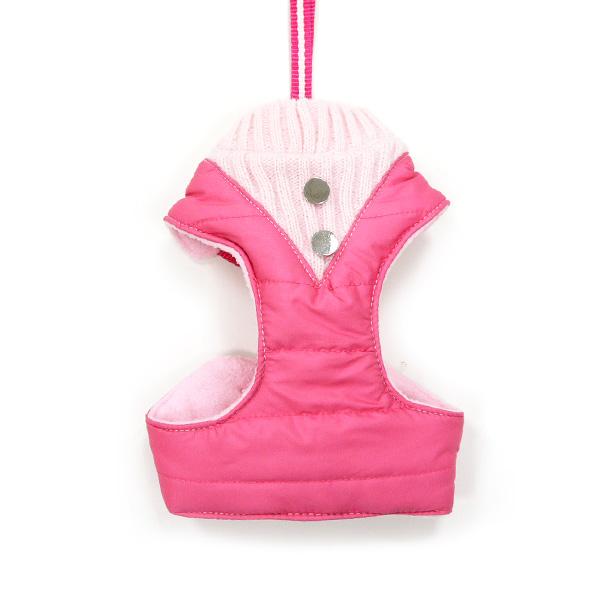 DOGO(ドゴ)ハーネス EasyGO Puffer Pink イージーゴー パファー ピンク