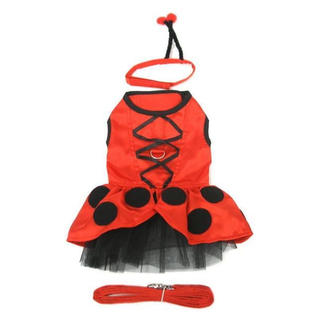 Doggie Design(ドギーデザイン)Lady Bug Fairy Dog Costume レディーバグ フェアリー コスチューム