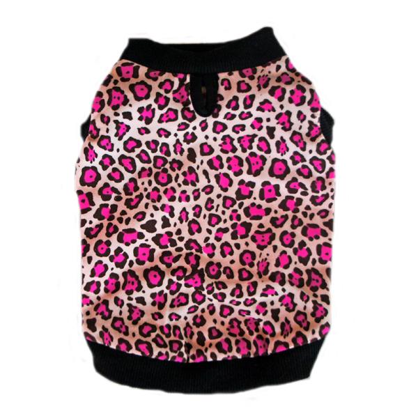 Doggie Design(ドギーデザイン)Pink Leopard Tank Top ピンク レオパード タンクトップ